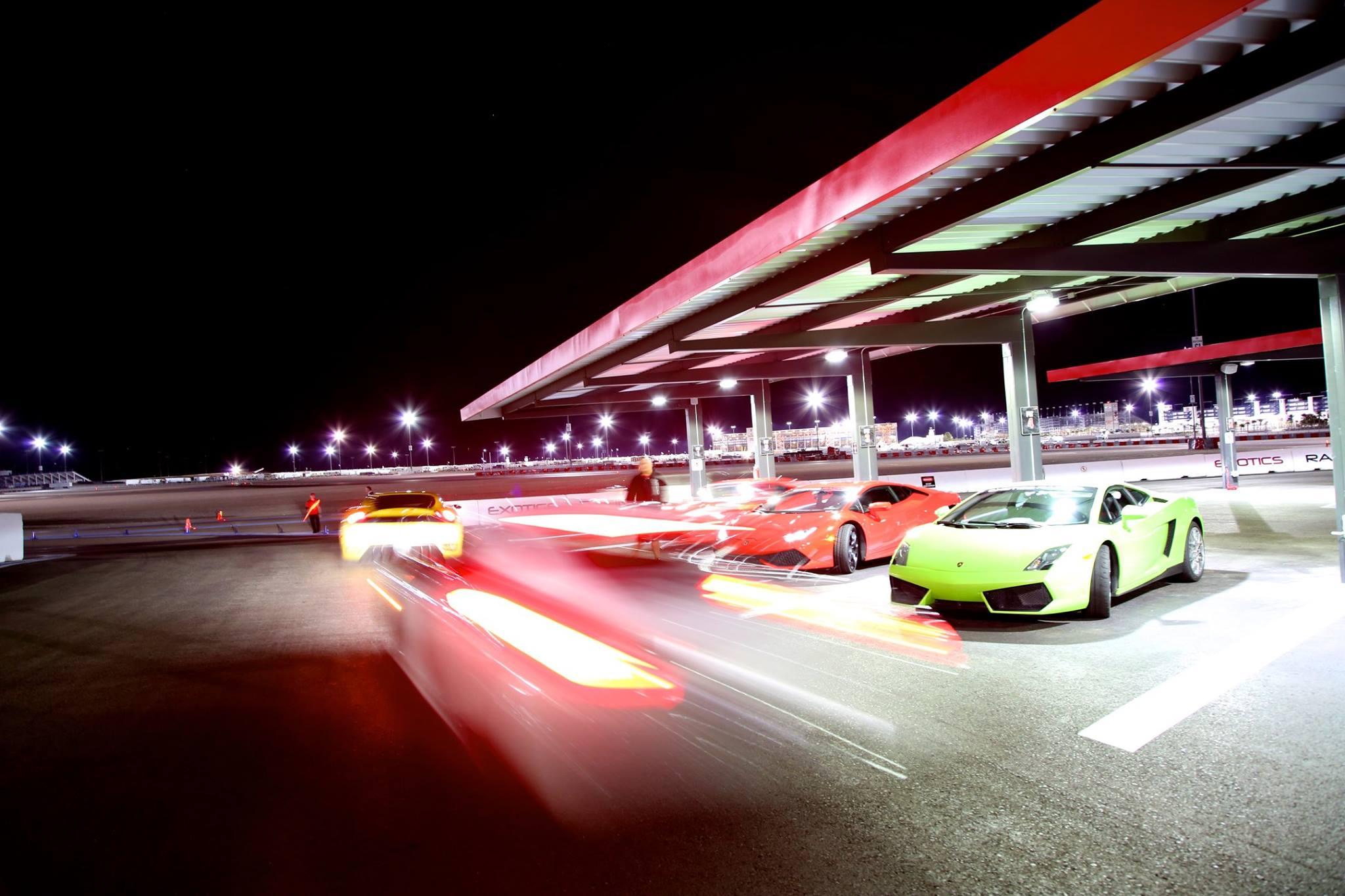 Pick a Car, Any Car @ Exotics Racing