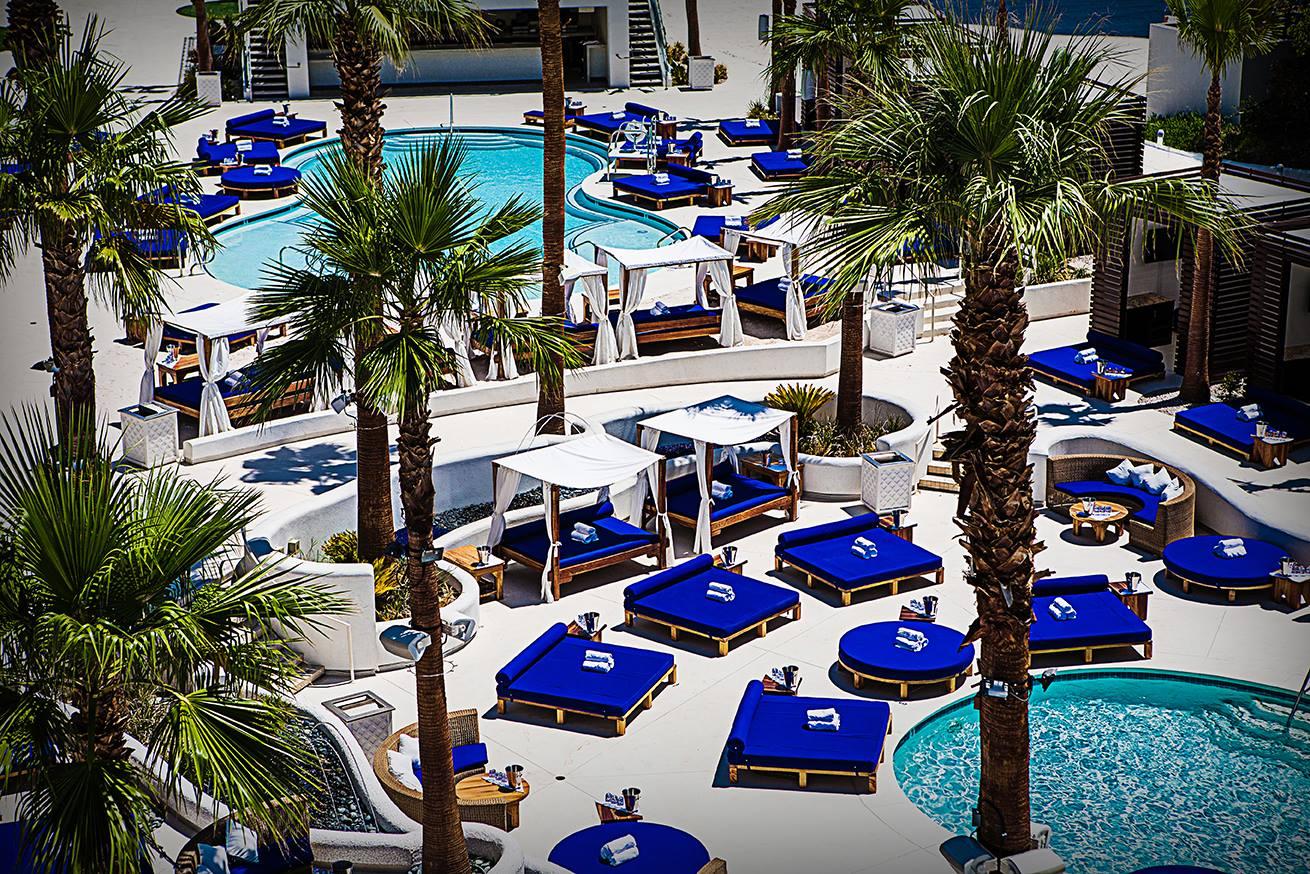 Sky Beach Club Las Vegas. Vegaster Tip: Ton of VALUE at this Pool Party!