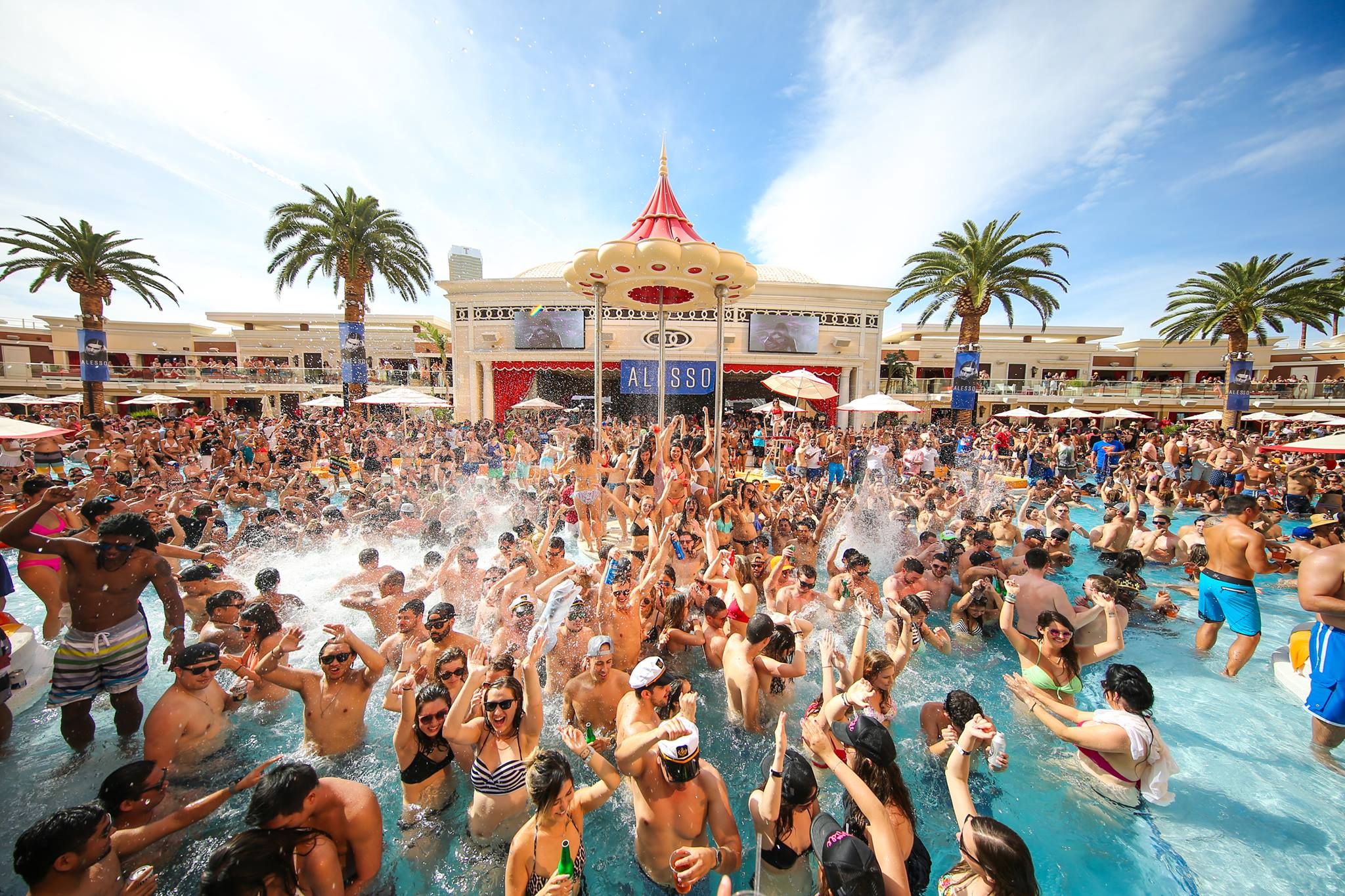 Cabana Bottle Service Las Vegas Encore Beach Club