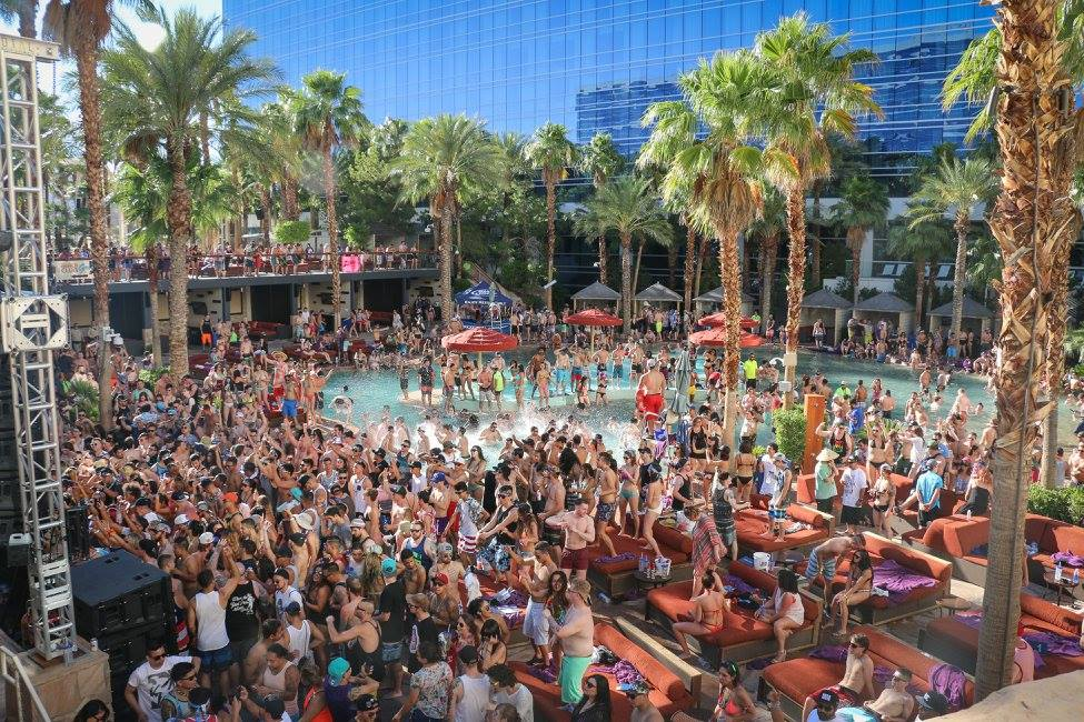 Cabana Bottle Service Las Vegas Rehab at Hard Rock