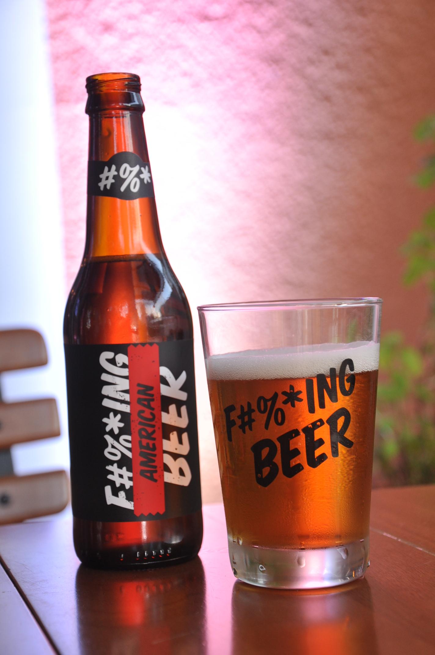 A F#%*ing Beer cheganeste fim de ano a 60 pontos de venda da capital paranaense e oito Estados (Foto: Divulgação)