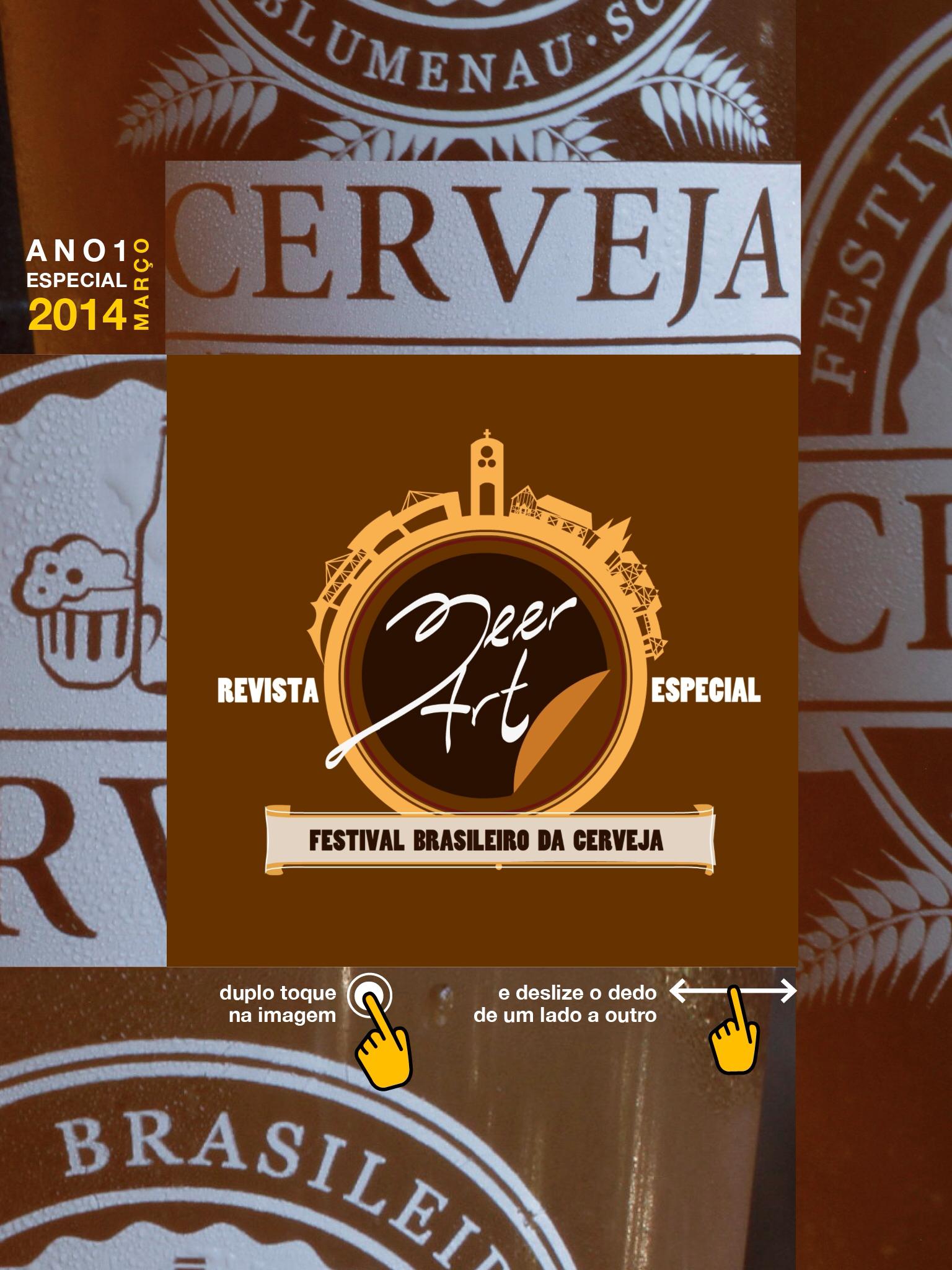 Edição Especial sobre o Festival Brasileiro da Cerveja pode ser baixada gratuitamente no App. Clique na imagem