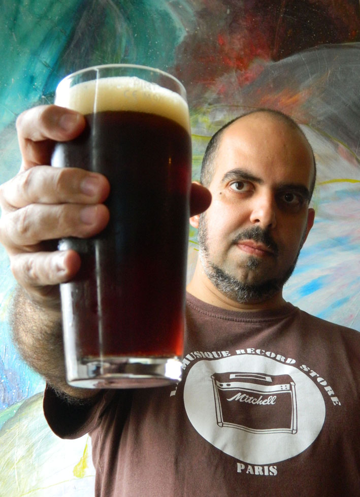 Raphael Rodrigues, do blog All Beers (Foto: Arquivo Pessoal)