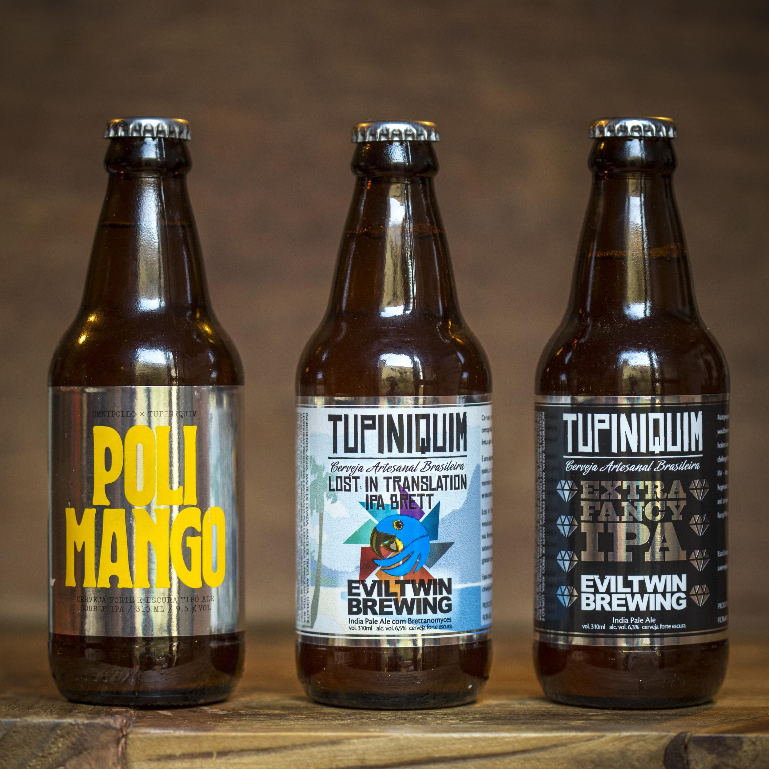 """Cervejas feitas com a parceria de """"ciganos"""" estrangeiros (Foto: Ricardo Jaeger/Beer Art)"""