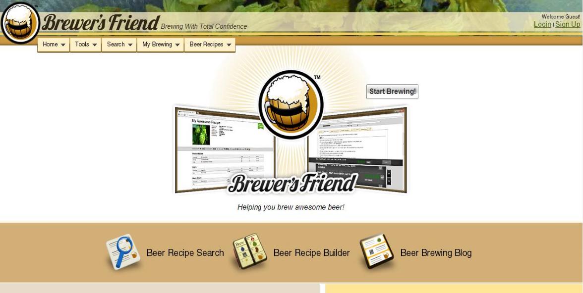 beerart brewer friend