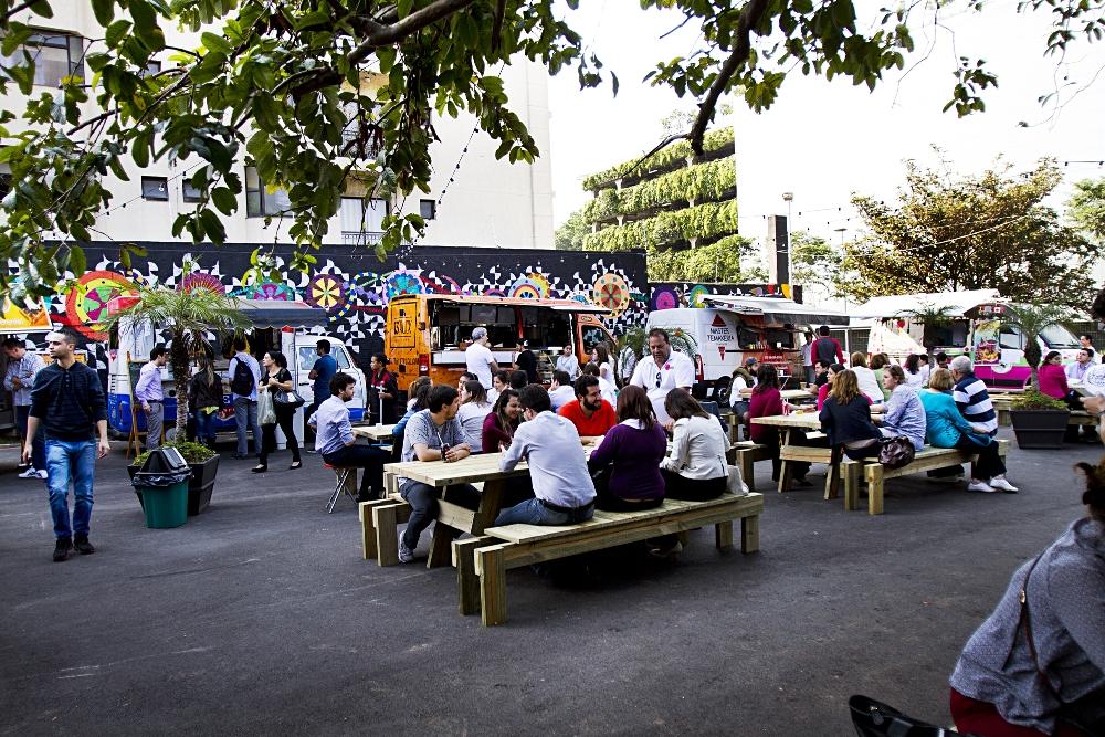 Butantan Food Park (foto) vai receber o Saturday Way, da Way Beer, no dia 16 de agosto (Foto: Divulgação)