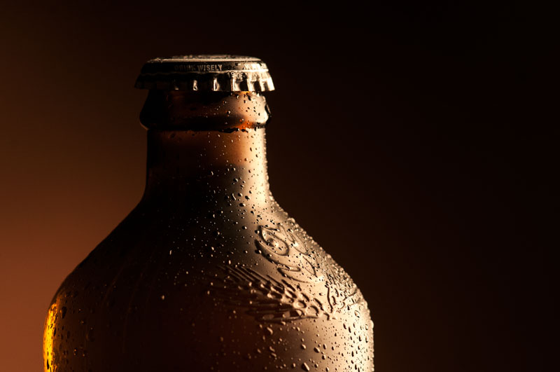 No novo logo, aplicado nas garrafas o olho da coruja ganha destaque (Foto: Divulgação)