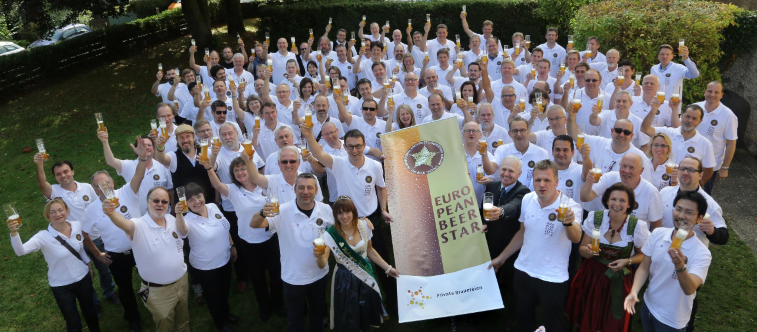Julgado anualmente em Munique, o European Beer Star é um dos mais relevantes prêmios do mundo e inclui júri internacional (bem à esquerda na foto de divulgação do evento, está Alexandre Bazzo, da Bamberg, de Votorantim-SP)