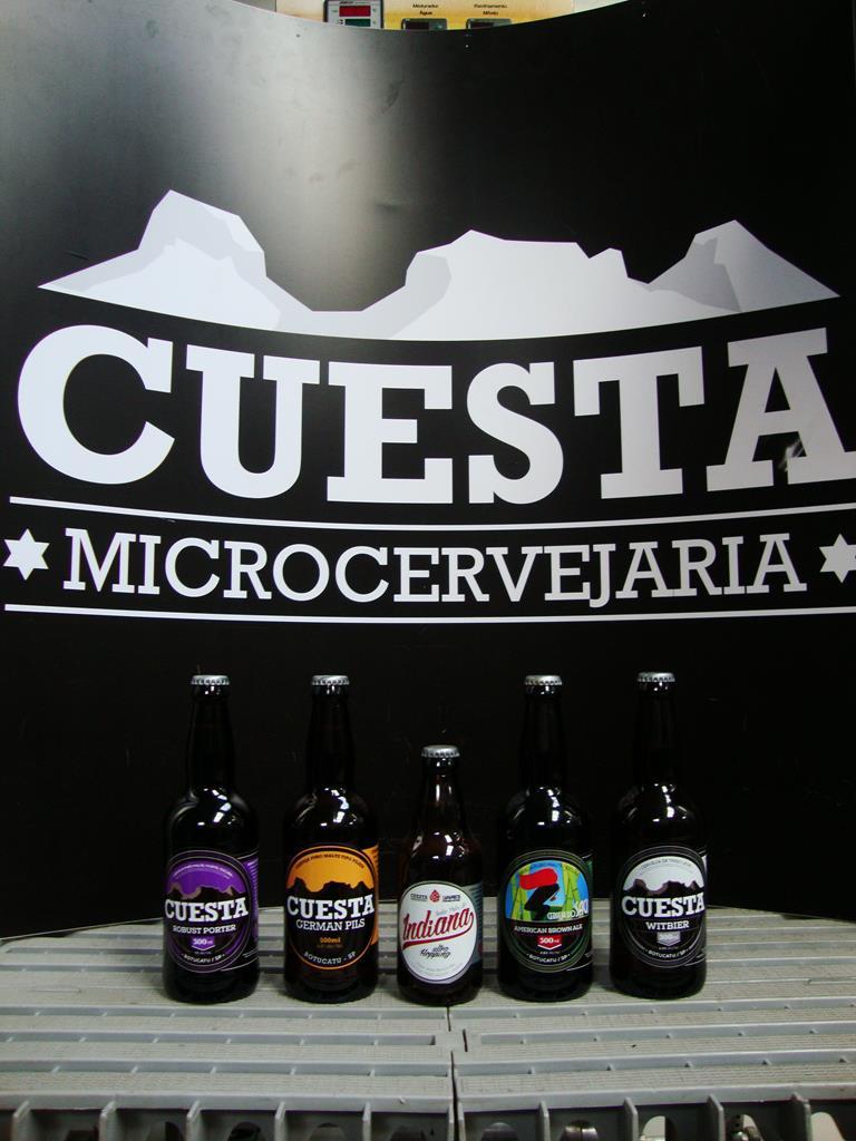 As opções da cervejaria de Botucatu (Foto: Divulgação)