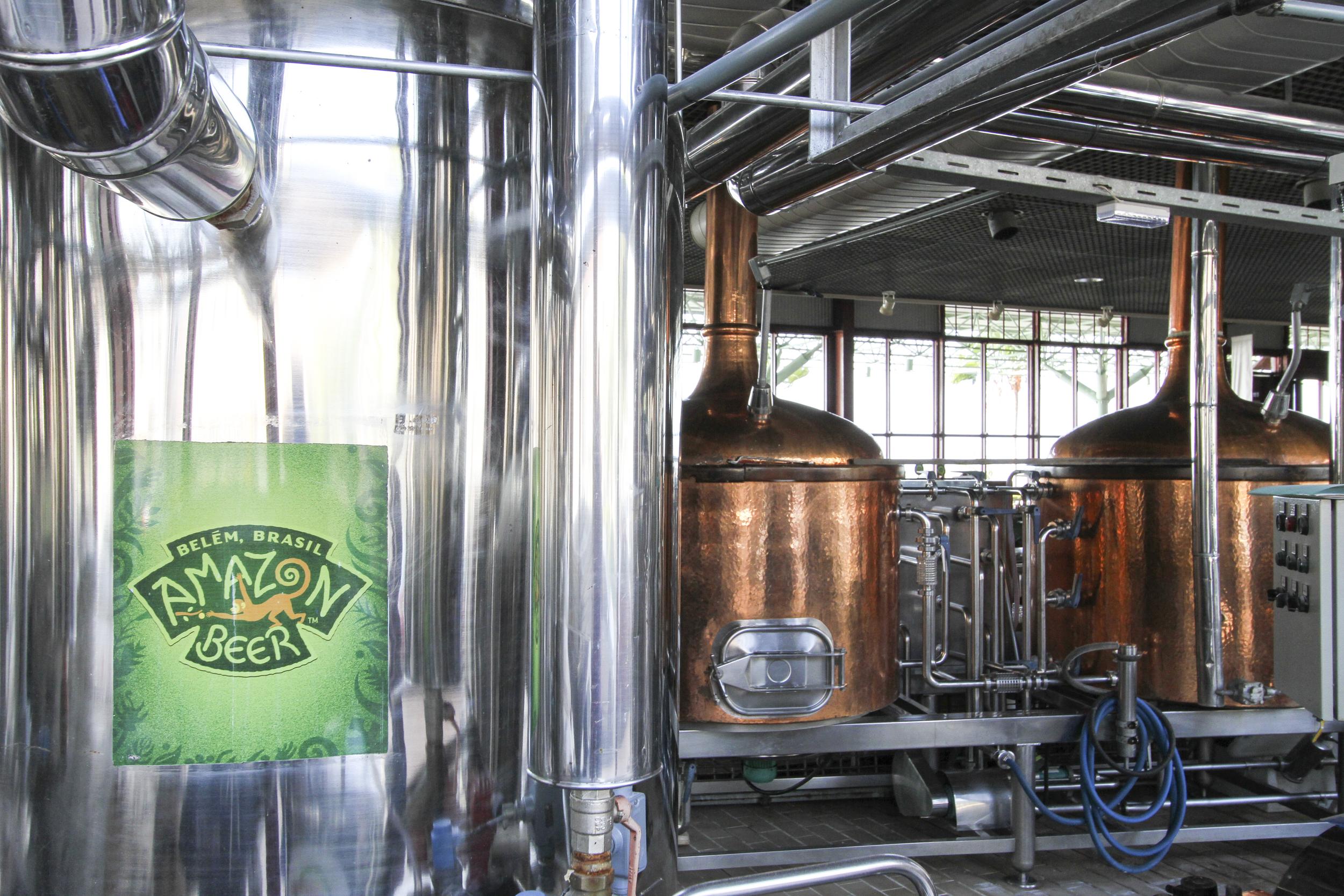 A microcervejaria amazon beer, de belém (PArá), é especializada em criar cervejas com ingredientes exóticos da região (FOTO: Juliana spinola/especial para a beer art)