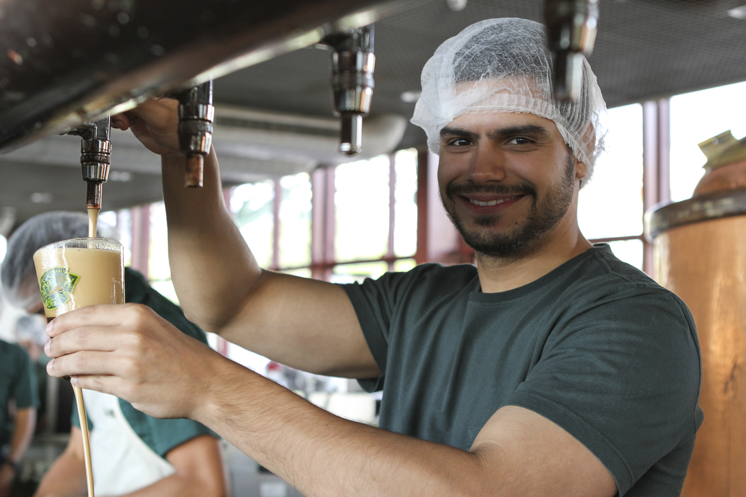 Caio exalta a visão empreendedora de seu pai (Foto: Juliana Spinola/Especial para a Beer Art)