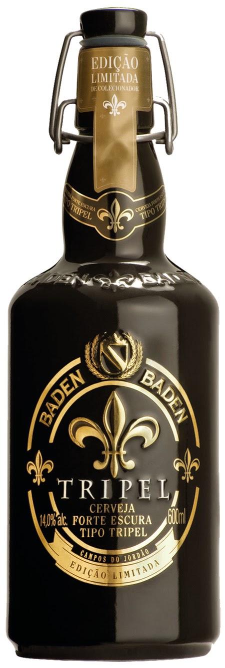 Com elevado teor alcoólico, 14%, a Baden Baden Triple passa portripla fermentação e um longo período de maturação (Foto: Divulgação)