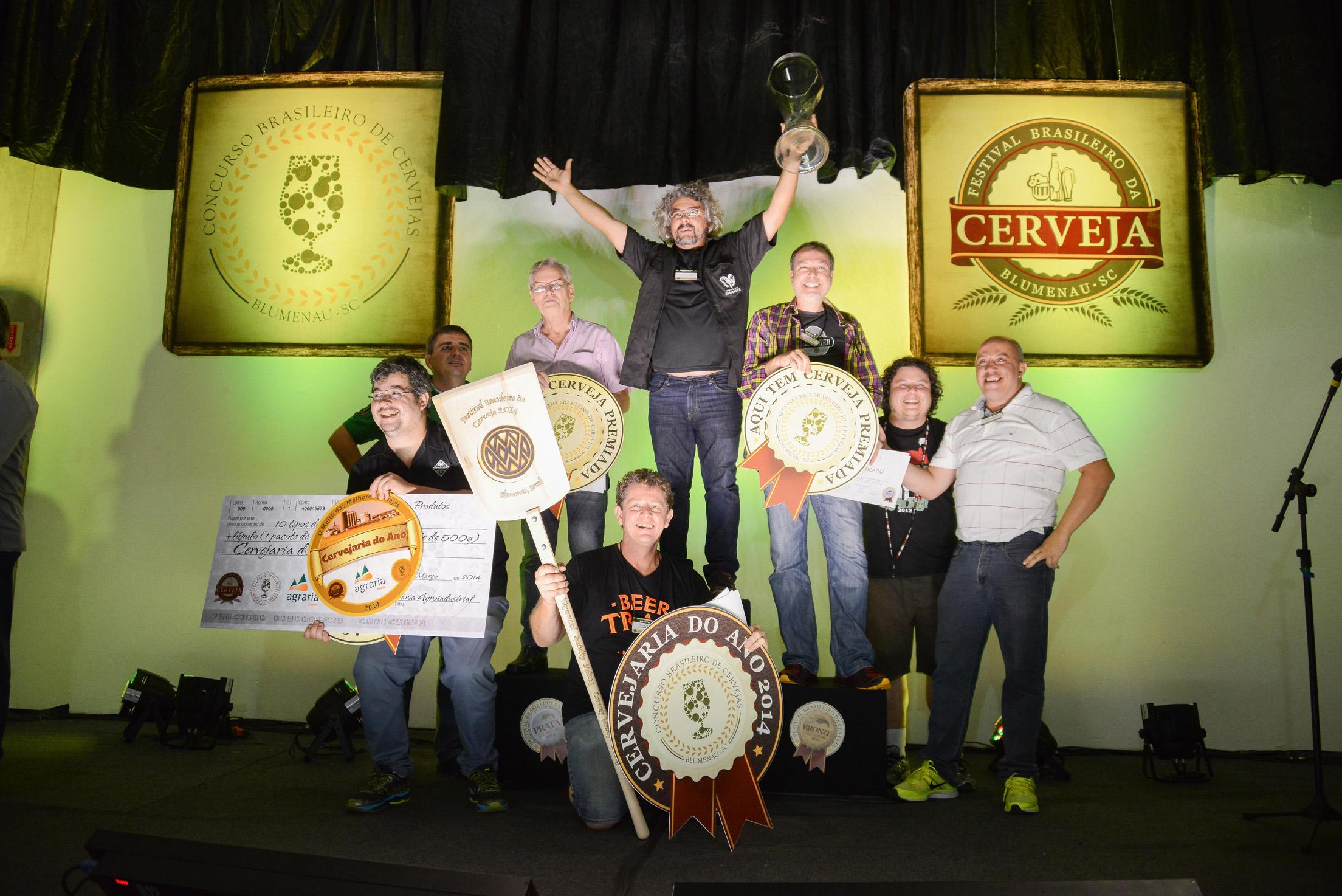 Na foto, os premiados do concurso em 2014 (Foto: Divulgação)
