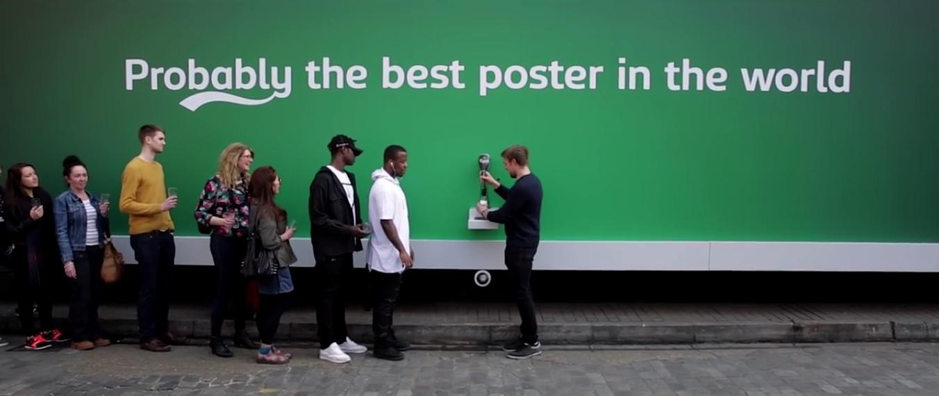 Esta é a primeira ação de uma nova campanha publicitária da marca (Foto: Divulgação)