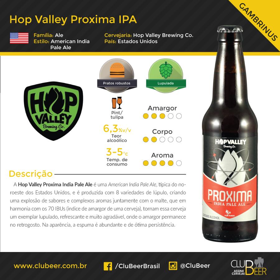 Hop Valey Proxima IPA