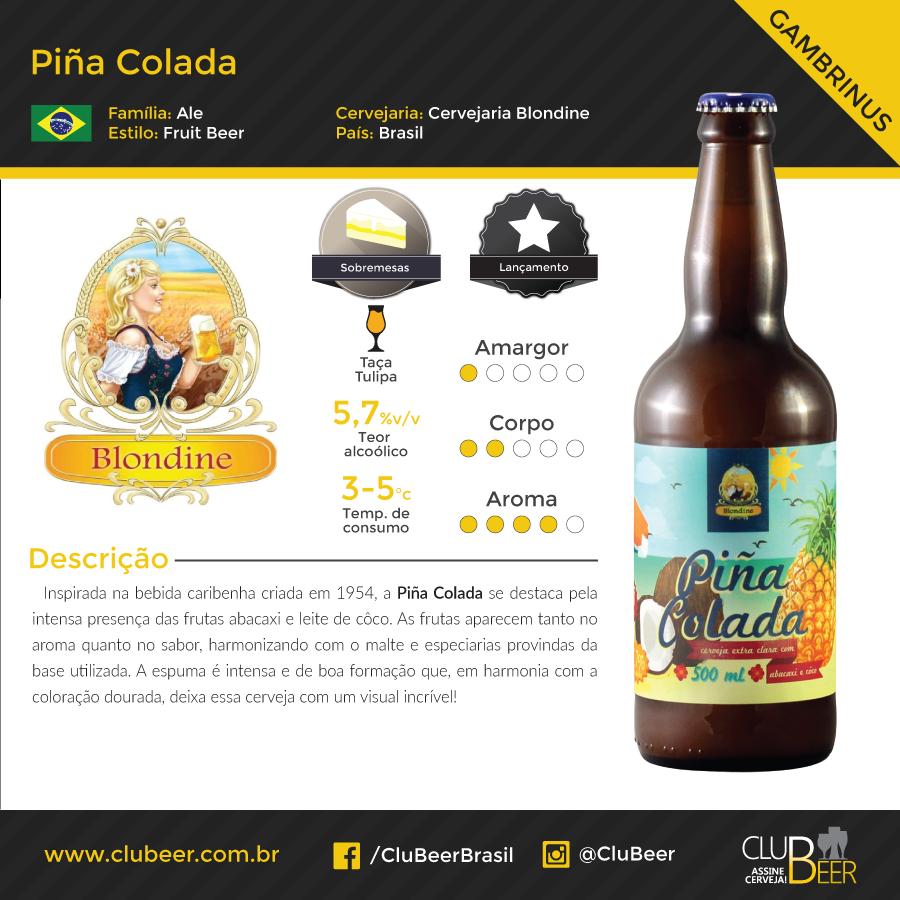 Cerveja Piña Colada