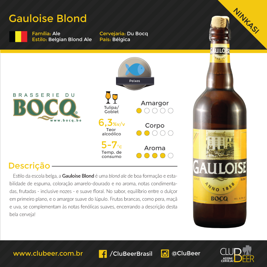 Du Bocq Gauloise Blond
