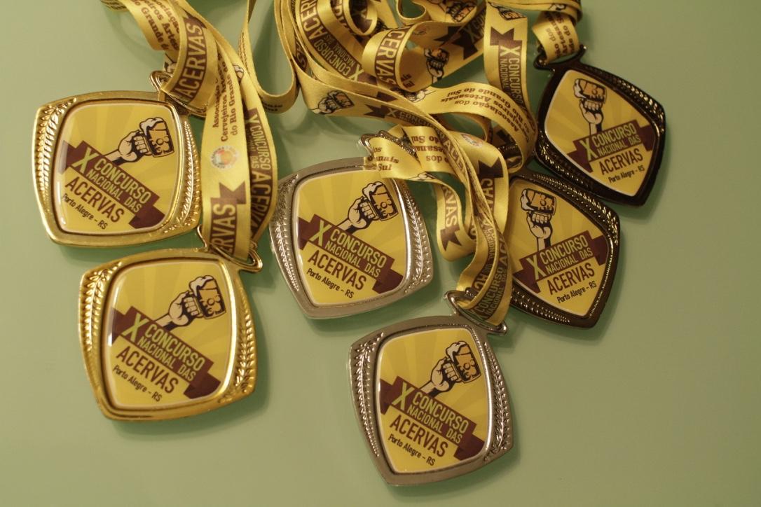 Dois ouros, duas pratas e dois bronzes no X Concurso Nacional das Acervas (Foto: Altair Nobre/Beer Art)