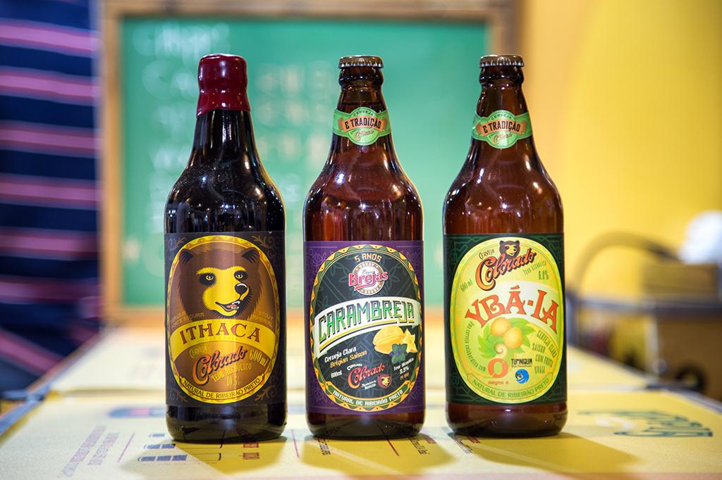 Três das atrações da Cervejaria Colorado (Foto: Ricardo Jaeger/Beer Art)