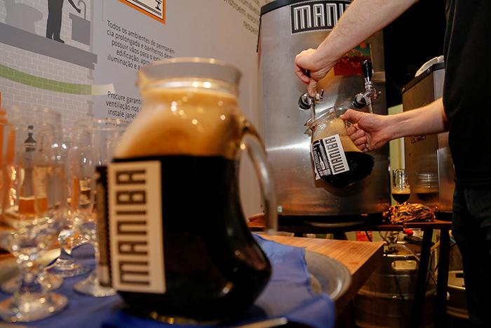 Maniba, uma das 3 cervejarias selecionadas para o evento, ao lado da Babel e da Irmãos Ferraro (Foto:Fagner Almeida/Divulgação)
