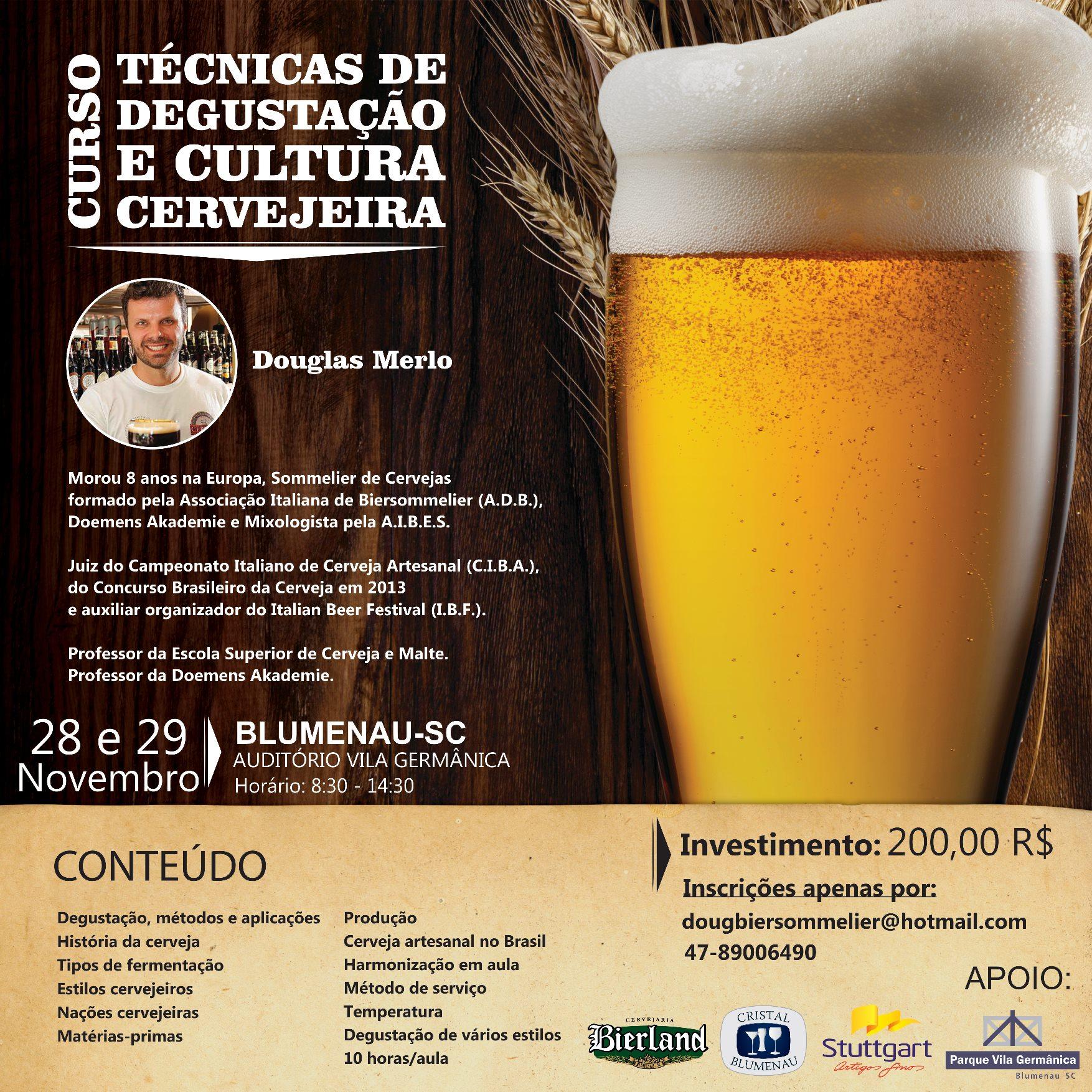 Degustação e Cultura Cervejeira
