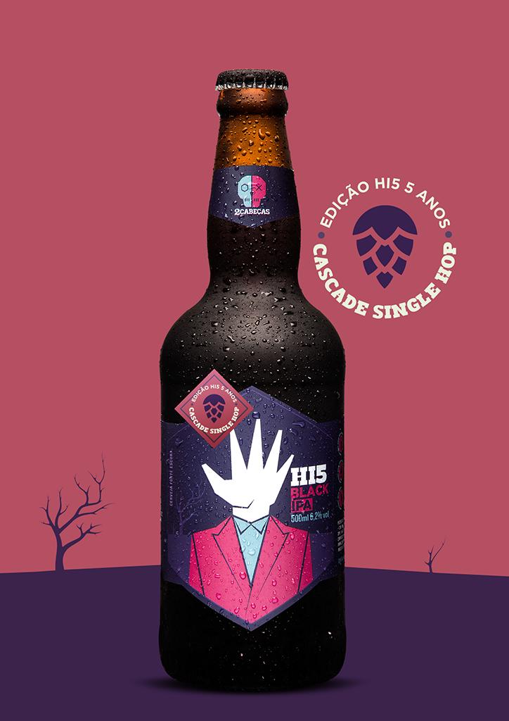 Hi5 é a primeira cerveja criada pela marca carioca (Foto: Divulgação)