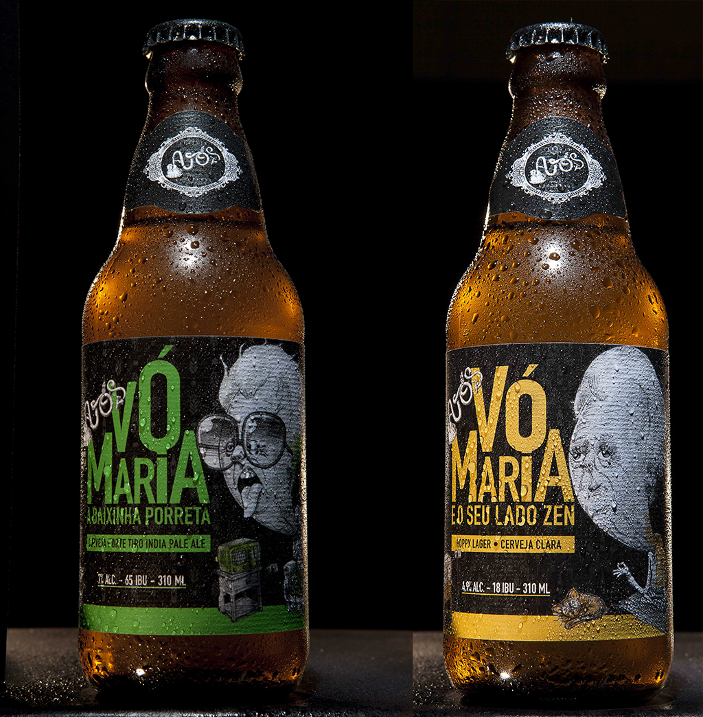 Na estreia, a Cerveja Avós lança uma India Pale Ale e uma Hoppy Lager (Fotos: Divulgação)