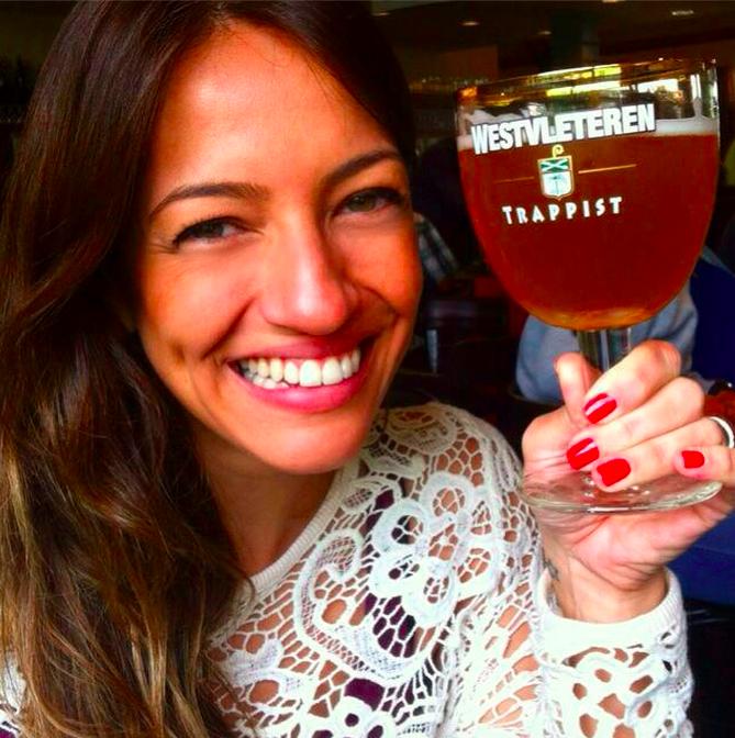 Laila Bergamasco em um de seus momentos compartilhados no Instagram (Foto: Divulgação)