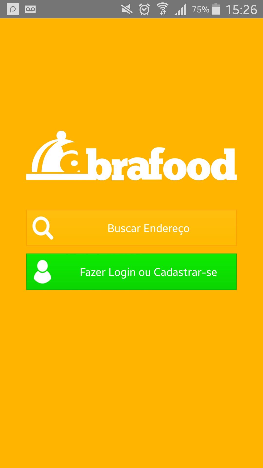 Imagem da tela inicial do app (Foto: Divulgação)