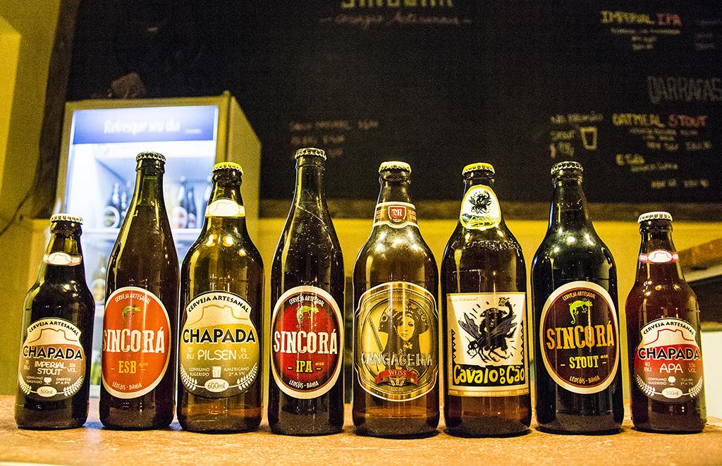 Cervejas artesanais da Chapada Diamantina (Foto: Caiã Pires/Divulgação Guia Chapada Diamantina)