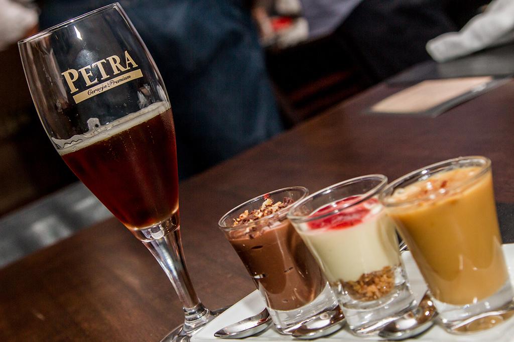 A harmonização sugerida para a Petra Porter inclui algumas sobremesas (confira no texto). Foto: Divulgação