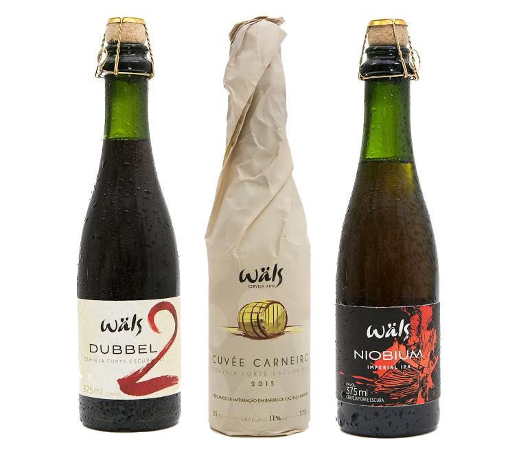 Cervejaria mineira foi premiada com a Dubbel a Cuvée Carneiro e a Niobium (Fotos: Divulgação)
