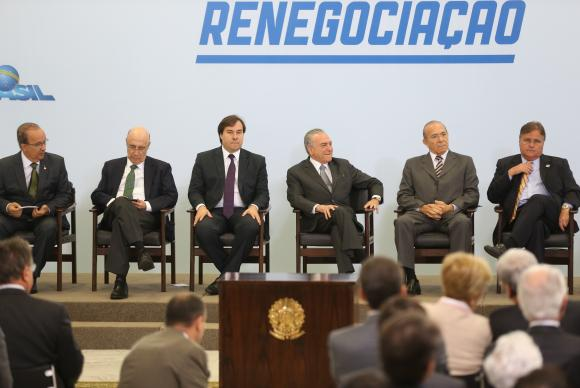 O presidente Michel Temer sanciona a nova lei do Supersimples, que beneficia microcervejarias (Antonio Cruz/Agência Brasil)