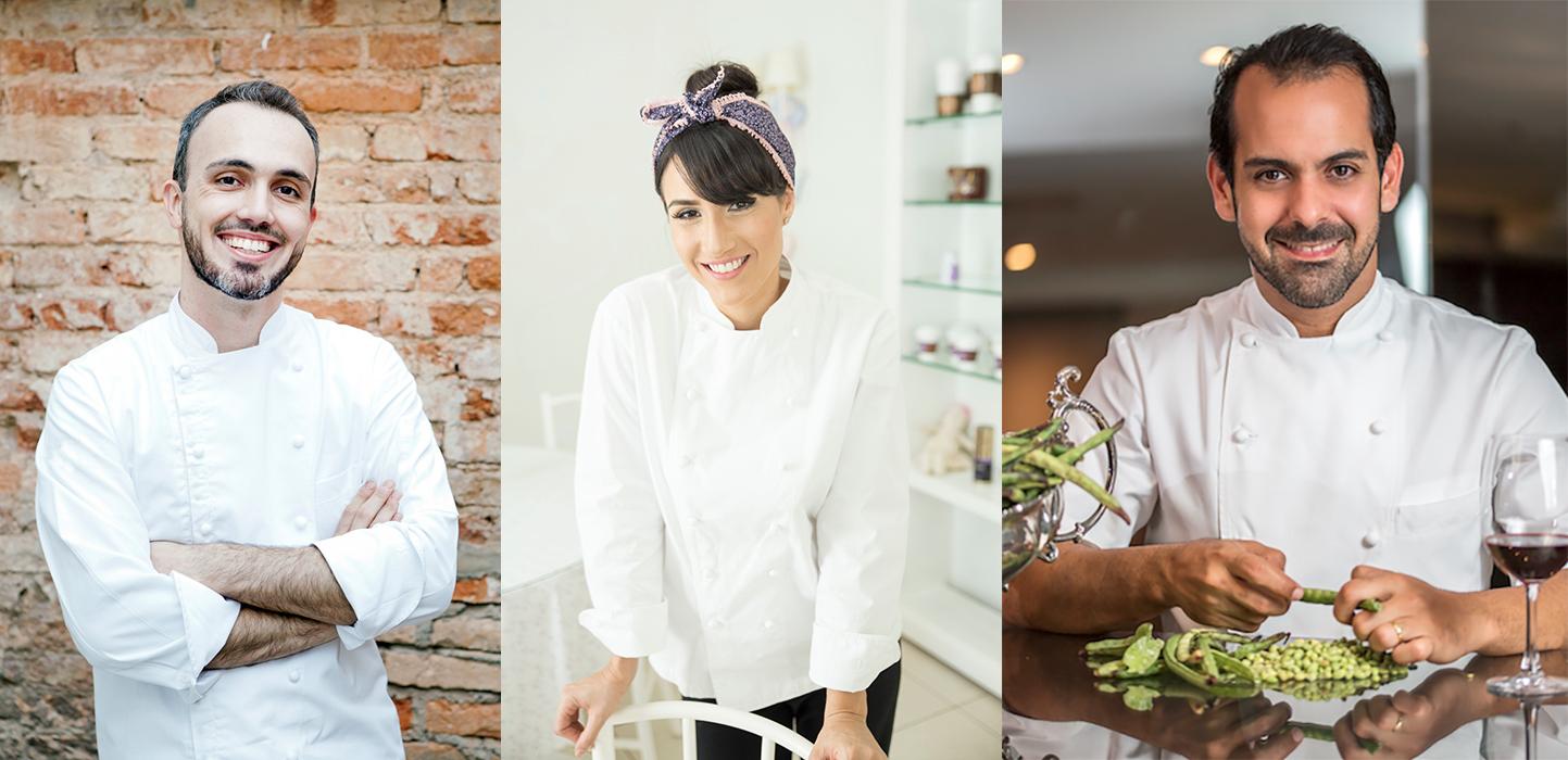 Leo Paixão, Lia Quinderé e Onildo Rocha, entre outros chefs, conduzem oficinas e outras atividades no evento em Belo Horizonte (Foto: Divulgação)