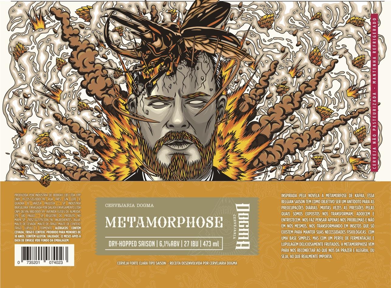Belgian Saison é inspirada pelo romance 'A Metamorfose', de Kafka (Foto: Divulgação)