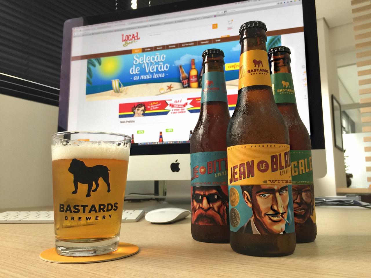 Bastards é uma das marcas paranaenses que podem ser encontradas na loja virtual (Foto: Divulgação)