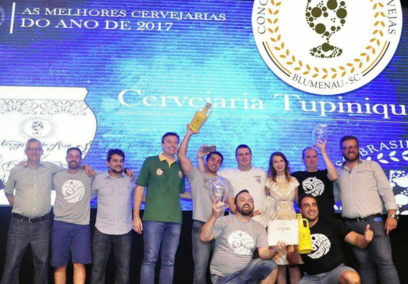 A exemplo de 2015 e 2016, a Tupiniquim é a cervejaria com mais medalhas (Foto: Divulgação)