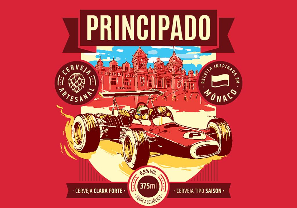 Cerveja exclusiva será usada em ações promocionais do Escritório de Turismo de Mônaco no Brasil (Foto: Divulgação