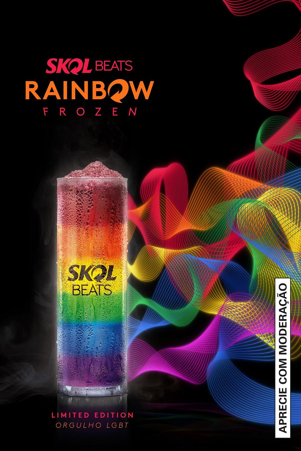 Bebida uniu várias versões da Skol Beats (Foto: Divulgação)