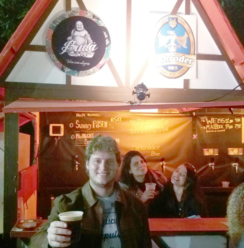 A Midnight Stout, da Buda Beer, aquece as noites da Bauernfest na serra fluminense (Foto: Divulgação)
