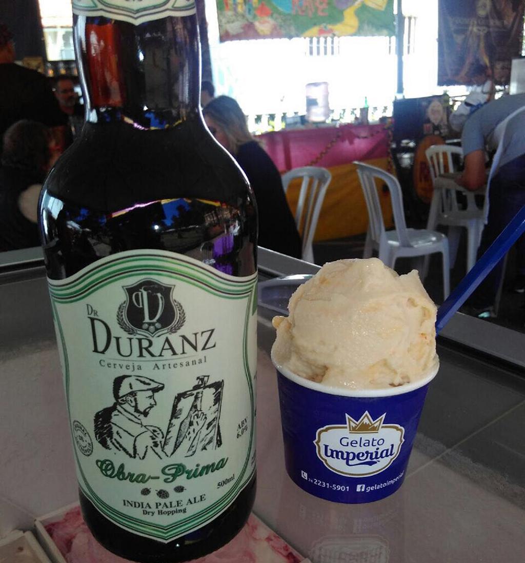 IPA serviu de base para sorvete de maracujá (Foto: Divulgação)