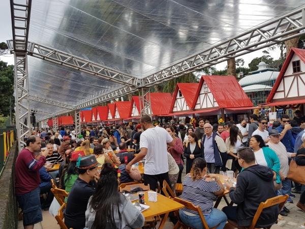 Até 2 de julho, a Bauernfest deve reunir mais de 300 mil visitantes em Petrópolis (Foto: Divulgação)