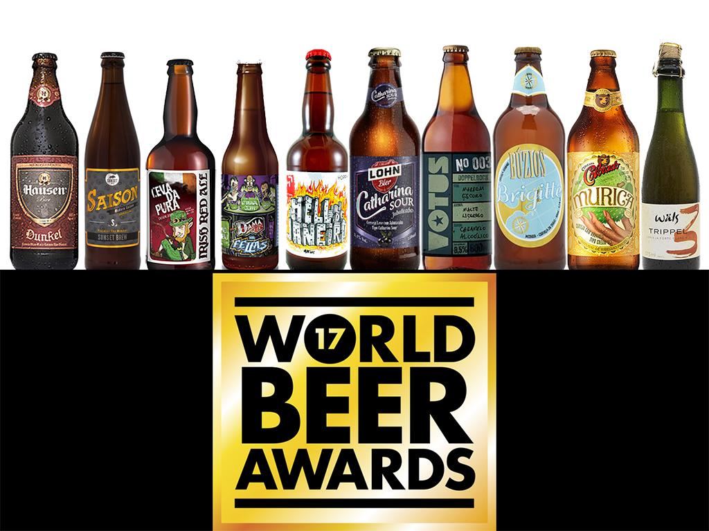 Dez cervejas realizaram a façanha de ser a melhor do mundo no seu estilo (Fotos: Divulgação)
