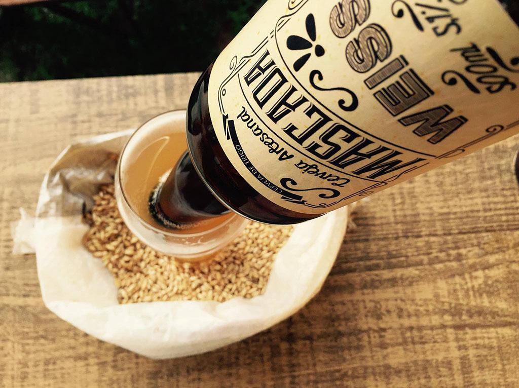 Rótulo de cerveja produzido pela Agência Alvo, de Bento Ferreira (Foto: Divulgação)