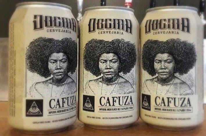 Cafuza é a Black Ale que foi o embrião da Dogma (Foto: Divulgação)