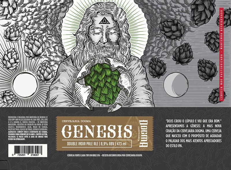 Genesis reforça a linha lupulada da Dogma (Foto: Divulgação)