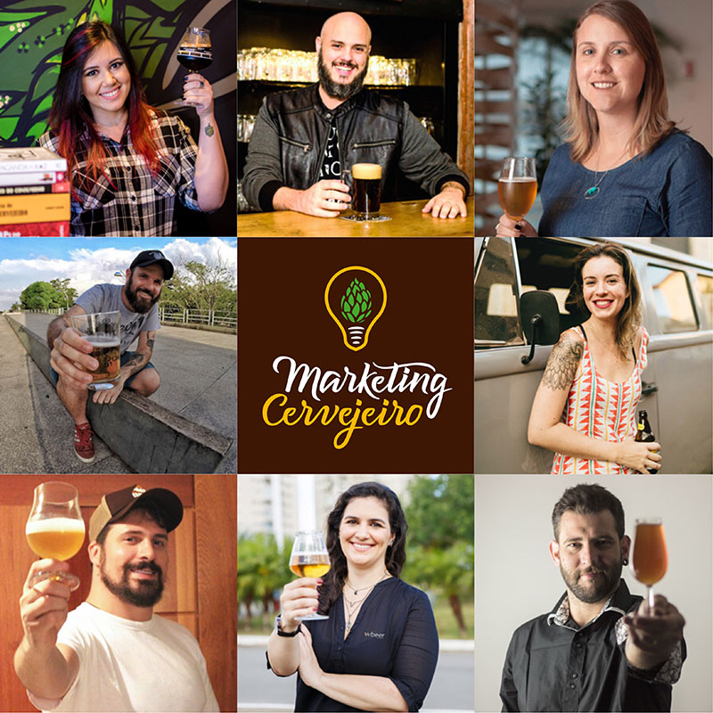 O time de professores dos cursos do Marketing Cervejeiro (Foto: Divulgação)
