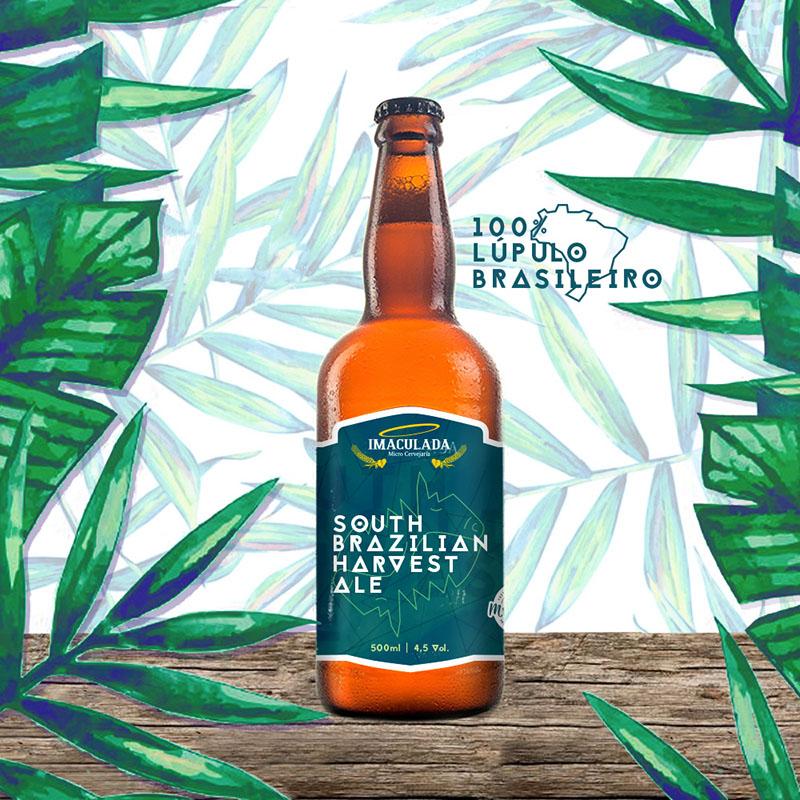 O nome Harvest Ale se refere ao fato de a cerveja usar lúpulo fresco, logo após a colheita (Foto: Divulgação)