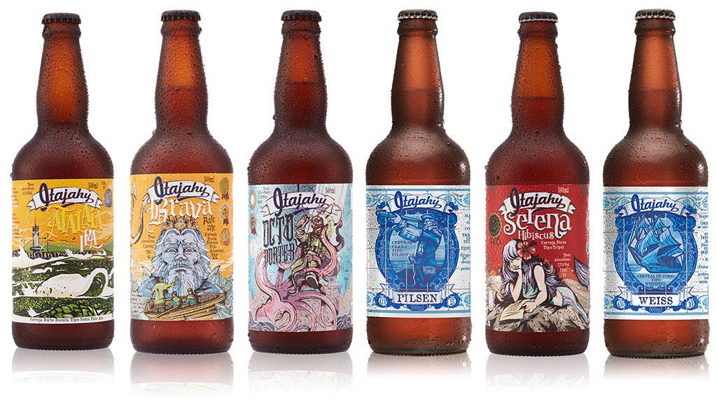 A linha da cervejaria Itajahy vem colecionando prêmios (Foto: Divulgação)