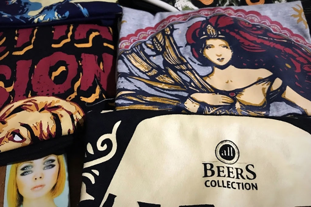 Confira na matéria os cinco temas que ilustram as primeiras camisetas e pôsteres da coleção (Foto: Divulgação)